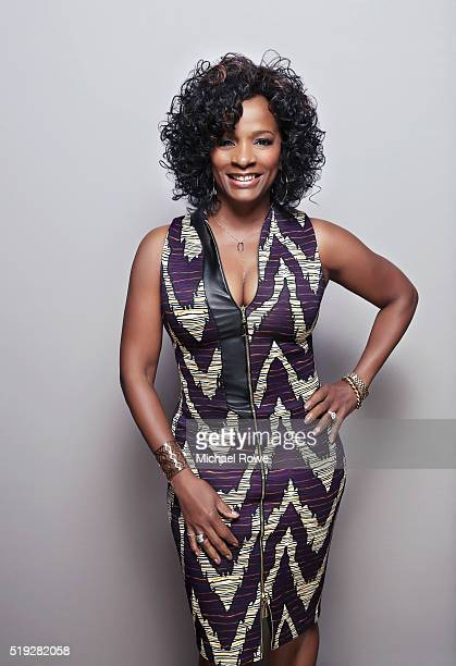 Vanessa Bell Calloway is photographed at the 2016 Black Women in Hollywood Luncheon for Essencecom on February 25 2016 in Los Angeles California