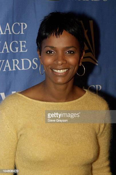 Vanessa Bell Calloway NAACP Image Award nominee for Outstanding Actress in a Drama Series poses for photographers at the nominations announcements...