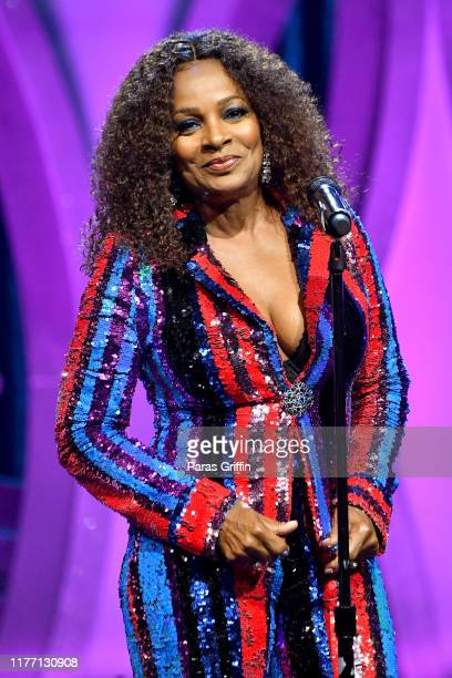 Vanessa Bell Calloway speaks onstage during 'BET Her Fights Breast Cancer' special event at The Riverside EpiCenter on September 25 2019 in Atlanta...