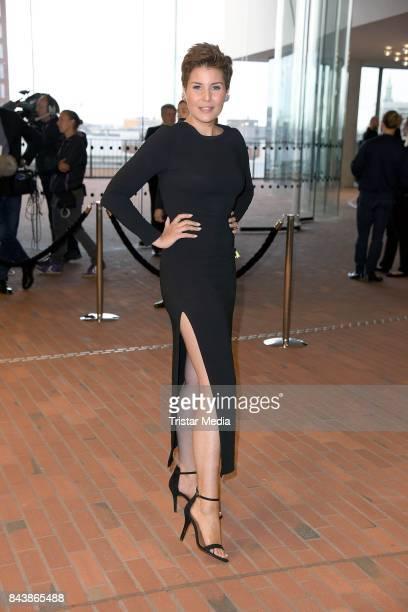 Vanessa Blumhagen attends the Deutscher Radiopreis at Elbphilharmonie on September 7 2017 in Hamburg Germany