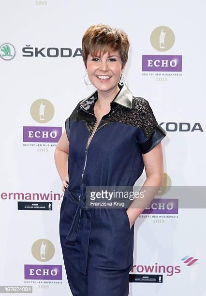Vanessa Blumhagen attends the Echo Award 2015 on March 26 2015 in Berlin Germany