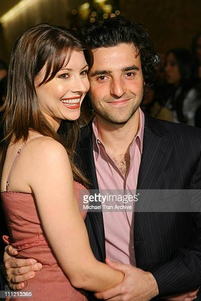 Vanessa Britting and David Krumholtz during 8th Annual Family Television Awards at Beverly Hilton Hotel in Beverly Hills California United States