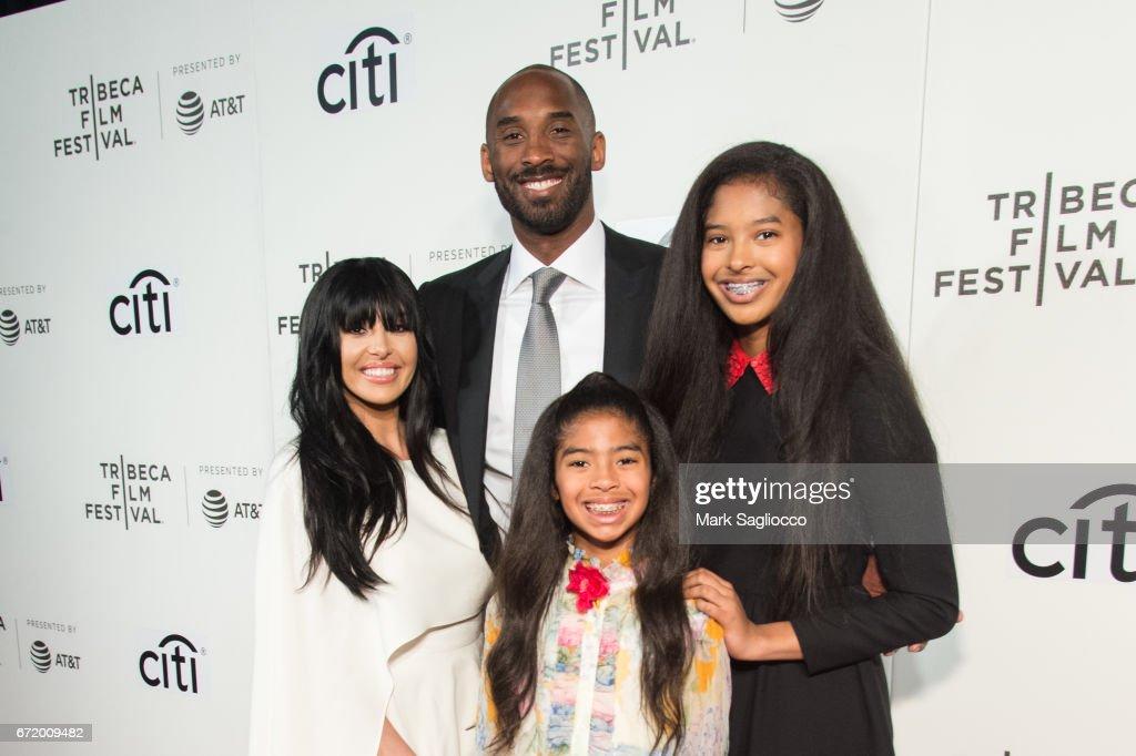 2017 Tribeca Film Festival - Tribeca Talks: Storytellers: Kobe Bryant With Glen Keane : News Photo