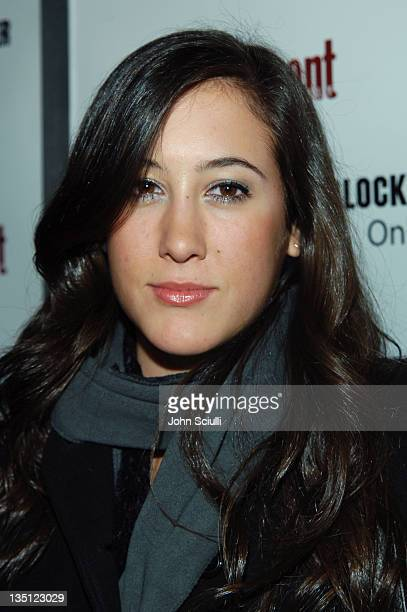 Vanessa Carlton during 2006 Sundance Film Festival Entertainment Weekly Sundance Opening Weekend Party Red Carpet at The Shop in Park City Utah...