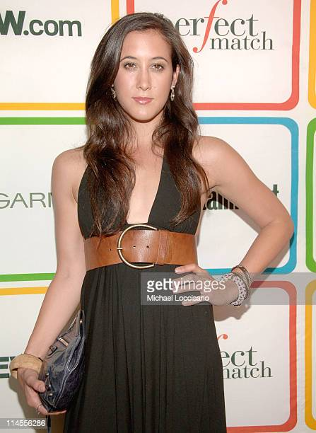 Vanessa Carlton during Entertainment Weekly's Must List Party June 22 2006 at Buddha Bar in New York City New York United States