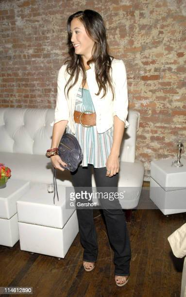 "Vanessa Carlton during Vanessa Carlton Toasts to Cynthia Vincent's ""Cubana"" Shoe Collection at Son Cubano - June 7, 2006 at Son Cubano in New York,..."