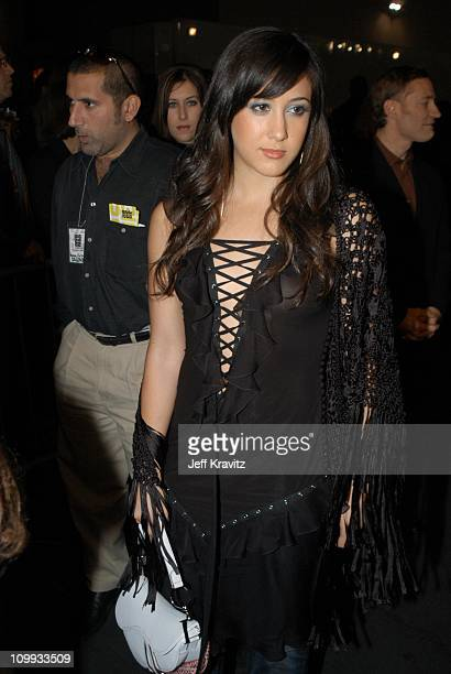Vanessa Carlton during VH1 Big in 2002 Awards Arrivals at Grand Olympic Auditorium in Los Angeles CA United States