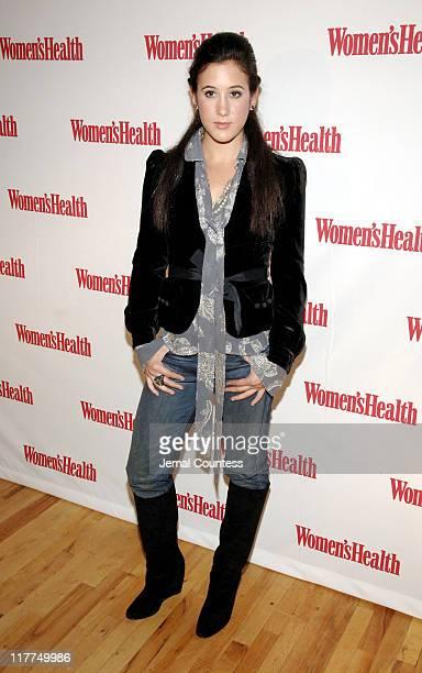 Vanessa Carlton during Women's Health Magazine Launch with Vanessa Carlton at Harry's Loft in New York City New York United States