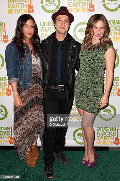 Vanessa Carlton Gavin DeGraw and Sophia Bush attend the 3rd Annual Origins Rocks Earth Month Concert on April 18 2012 in New York City