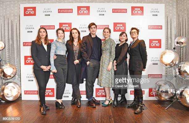 Vanessa Caswill Annes Elwy Emily Watson Jonah HauerKing Maya ThurmanHawke Heidi Thomas and Susie Liggat attend a special screening of new BBC drama...