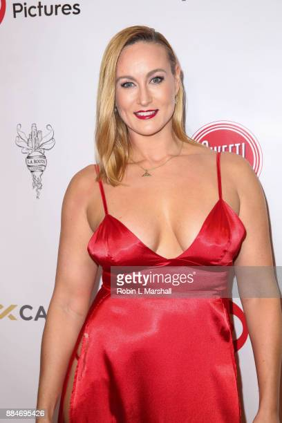Vanessa Cater attends the TJ Scott Book Launch for 'In The Tub Volume 2' at Cinematic Pictures Group Gallery on December 2 2017 in Hollywood...
