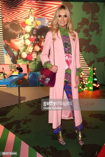 Vanessa Cush Birkenstock during the Jo Malone London 'Crazy Colourful Christmas' event at Goldberg Studios on November 29 2017 in Munich Germany