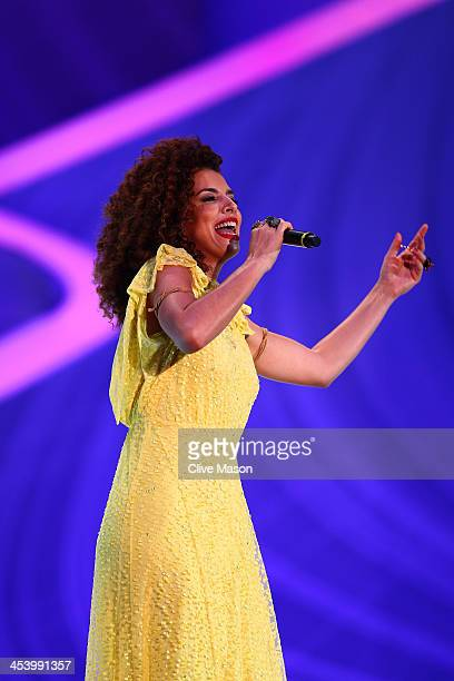 Vanessa da Mata performs before the Final Draw for the 2014 FIFA World Cup Brazil at Costa do Sauipe Resort on December 6 2013 in Costa do Sauipe...