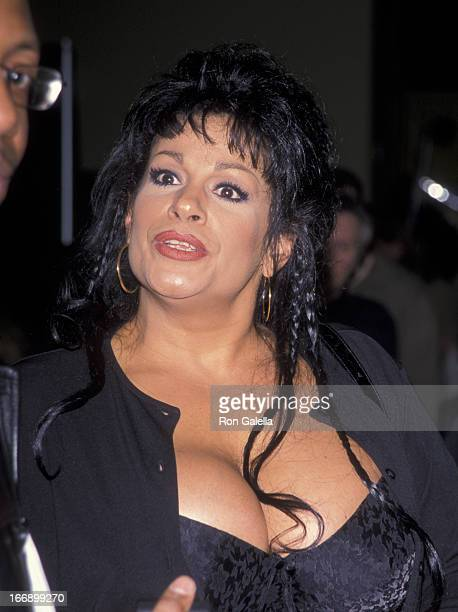 Vanessa Del Rio Attends Erotica Usa Convention On April 15 1999 At The Jacob Javitz Center