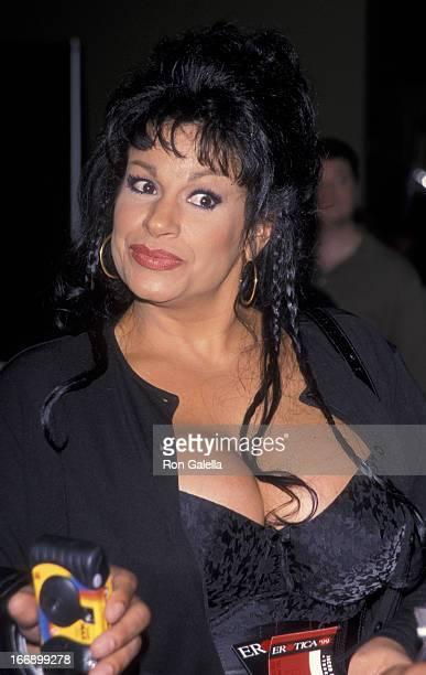 Vanessa Del Rio attends Erotica USA Convention on April 15 1999 at the Jacob Javitz Center in New York City