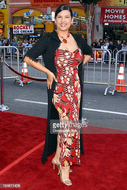 Vanessa Del Rio during Kangaroo Jack Premiere at Grauman's Chinese Theatre in Hollywood CA United States