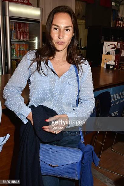 Vanessa Demouy attend La Fete des Tuileries on June 24 2016 in Paris France