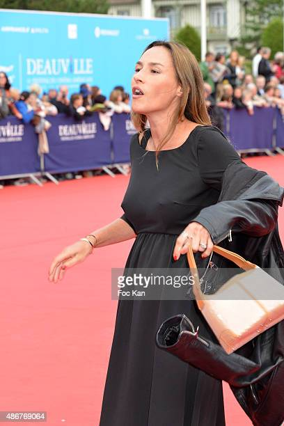 Vanessa Demouy attends the 41st Deauville American Film Festival Opening Ceremony at the CID on September 4 2015 in Deauville France