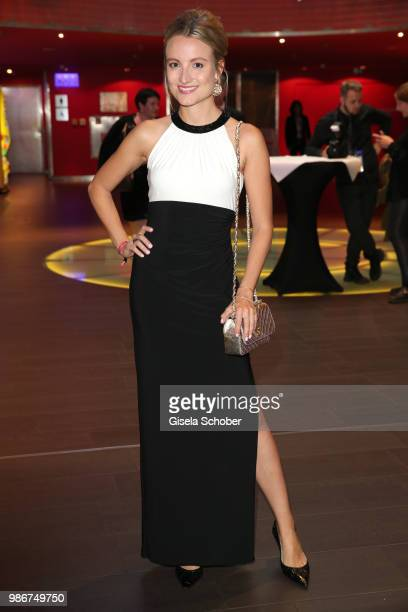 Vanessa Eichholz attends the opening night of the Munich Film Festival 2018 at Mathaeser Filmpalast on June 28 2018 in Munich Germany