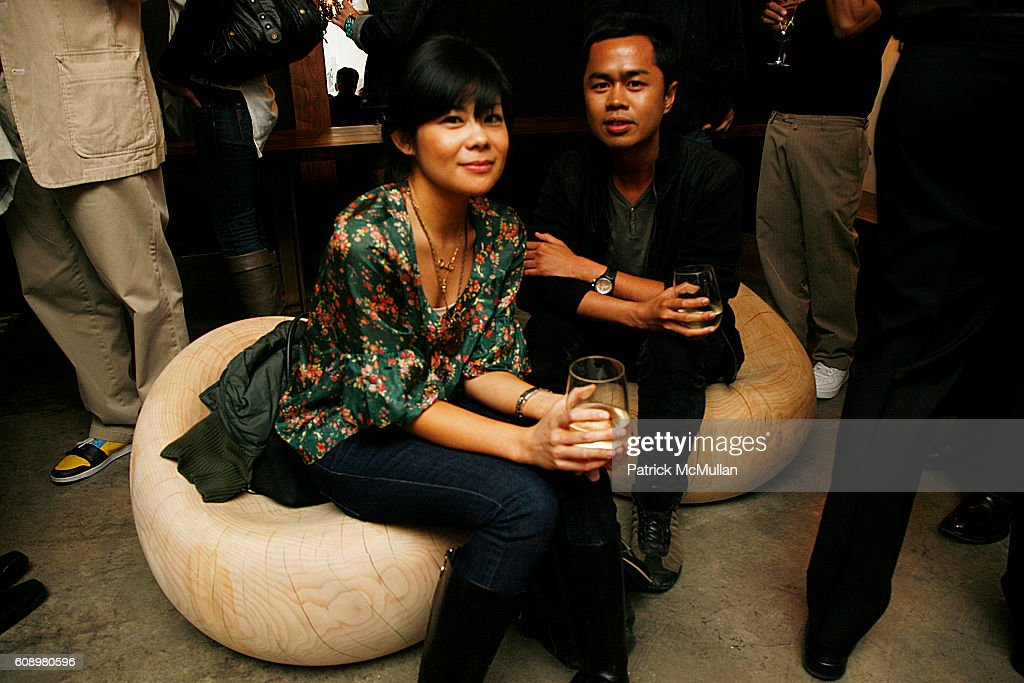 Vanessa Espinosa And Nino Magallanes Attend HUDSON FURNITURE INC Custom  Collection Party To Open ICFF 2007