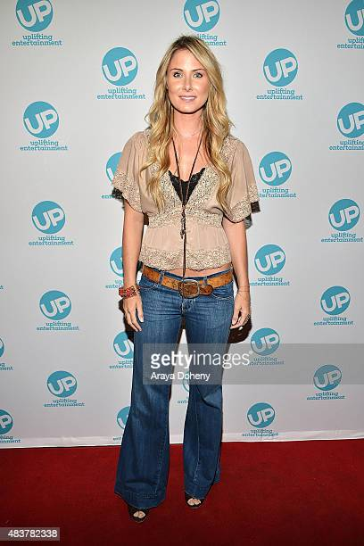 Vanessa Evigan attends the 'Ties That Bind' red carpet premiere party at Pearl's Liquor Bar on August 12 2015 in Hollywood California