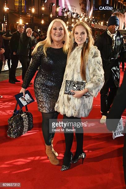 Vanessa Feltz and Allegra Kurer attend the European Premiere of Collateral Beauty at Vue Leicester Square on December 15 2016 in London England