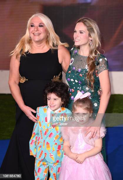 Vanessa Feltz and Allegra Kurer attend the European Premiere of Mary Poppins Returns at Royal Albert Hall on December 12 2018 in London England