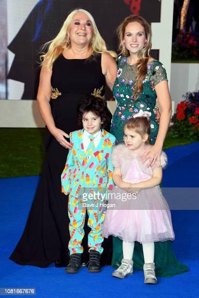 Vanessa Feltz and Allegra Kurer attend the European Premiere of 'Mary Poppins Returns' at Royal Albert Hall on December 12 2018 in London England