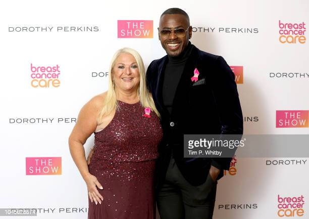 Vanessa Feltz and Ben Ofoedu attend the Breast Cancer Care London Fashion Show in association with Dorothy Perkins at Park Plaza Westminster Bridge...