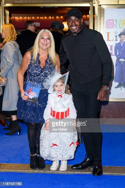Vanessa Feltz and Ben Ofoedu attend the opening night performance of Mary Poppins at Prince Edward Theatre on November 13 2019 in London England