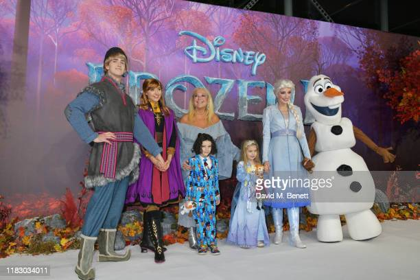 Vanessa Feltz and guests attend the European Premiere of Frozen 2 at the BFI Southbank on November 17 2019 in London England