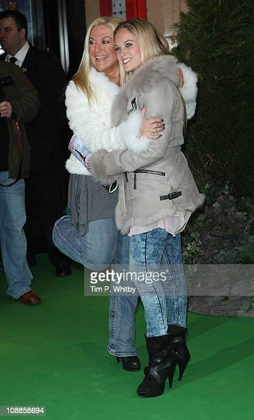 Vanessa Feltz and her daughter Allegra Kurer attend the UK Gala Screening of Yogi Bear 3D at the Vue Leicester Square on February 6 2011 in London...