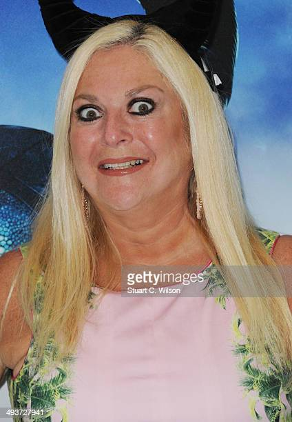 Vanessa Feltz attends Celebrity Screening Of Maleficent at Odeon Leicester Square on May 25 2014 in London England