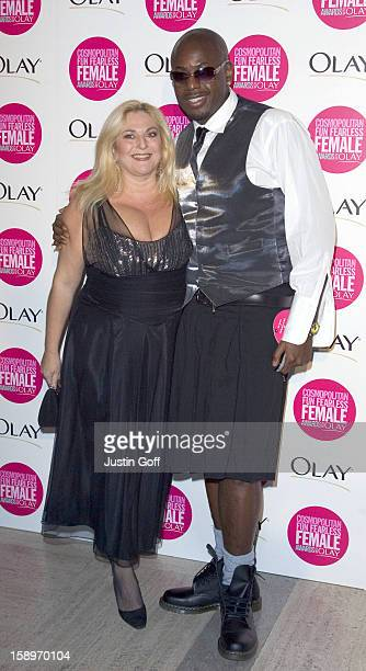 Vanessa Feltz Attends The Cosmopolitan Fun Fearless Female Awards With Olay At London'S Bloomsbury Ballroom