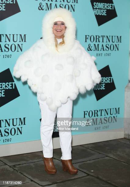 Vanessa Feltz attends the Skate At Somerset House With Fortnum Mason VIP launch party on November 12 2019 in London England