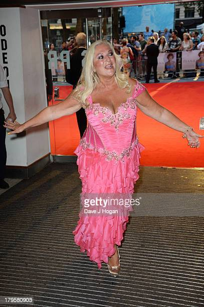 Vanessa Feltz attends the world premiere of 'Diana' at The Odeon Leicester Square on September 5 2013 in London England