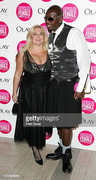 Vanessa Feltz during Cosmopolitan Fun Fearless Female Awards with Olay Red Carpet at Bloomsbury Ballroom in London Great Britain