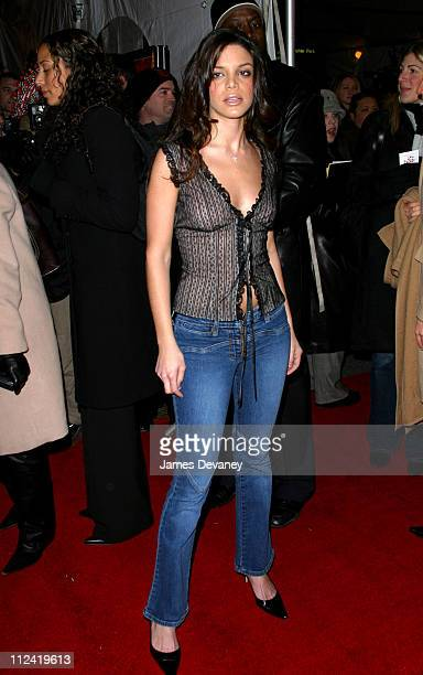 Vanessa Ferlito during 25th Hour New York City Premiere Arrivals at Ziegfeld Theater in New York City New York United States