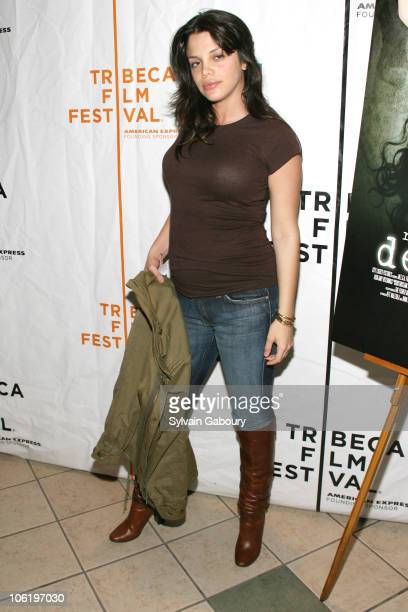 Vanessa Ferlito during 6th Annual Tribeca Film Festival Descent Screening Arrivals at AMC West 34th Street in New York City New York United States