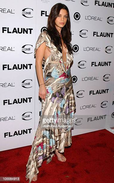 Vanessa Ferlito during Just Cavalli Hosts Flaunt Magazine's 6Year Anniversary Party Arrivals at Private Residence in Los Angeles California United...