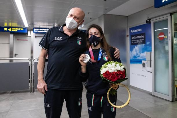 ITA: Vanessa Ferrari Returns Home After Winning The Silver Medal At The 2020 Tokyo Olympic