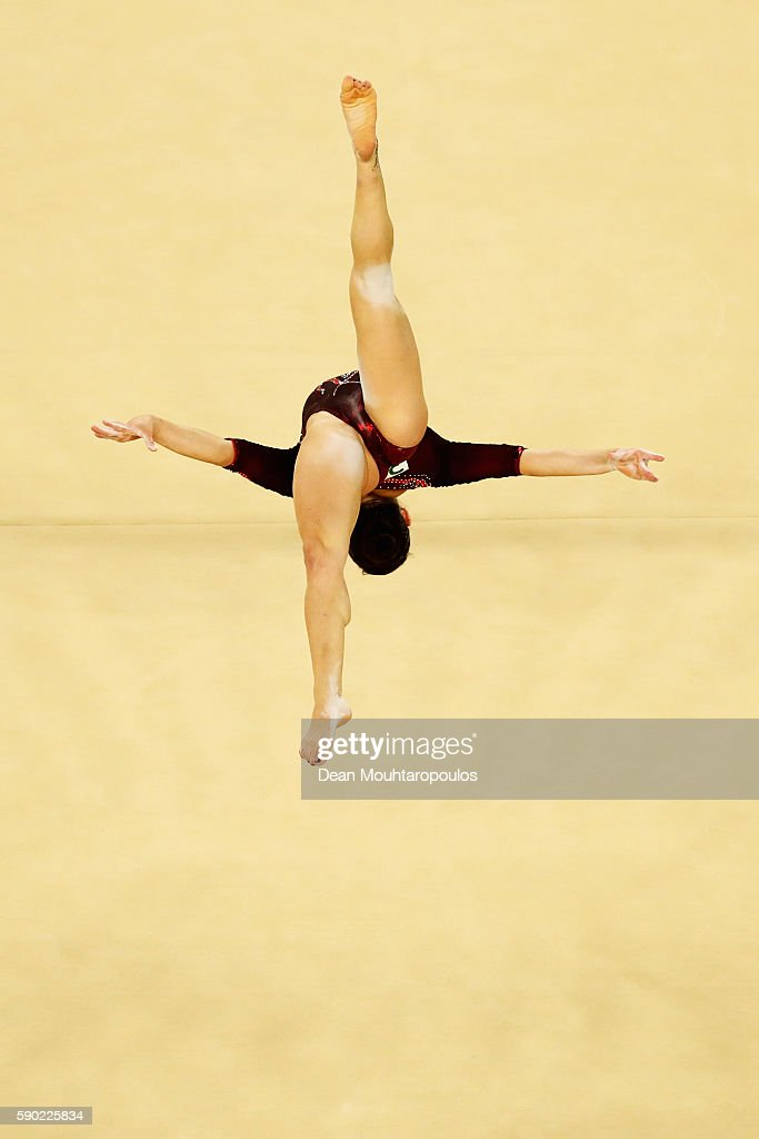Vanessa Ferrari of Italy competes on the Women's Floor final on Day 11 of the Rio 2016 Olympic Games at the Rio Olympic Arena on August 16, 2016 in Rio de Janeiro, Brazil.