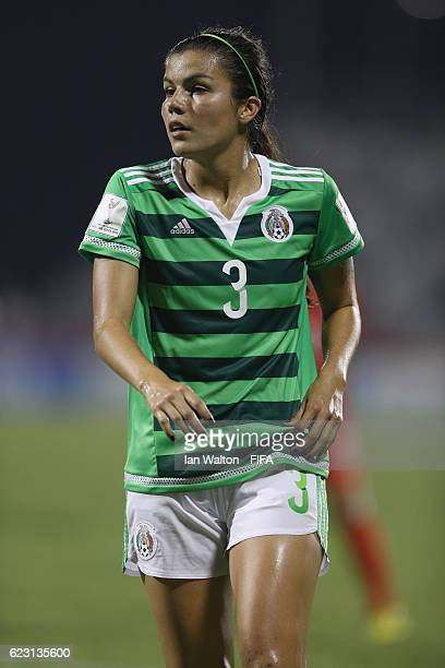Vanessa Flores of Mexico in action during the FIFA U20 Women's World Cup Group D match between Mexico and Korea Republic at National Football Stadium...