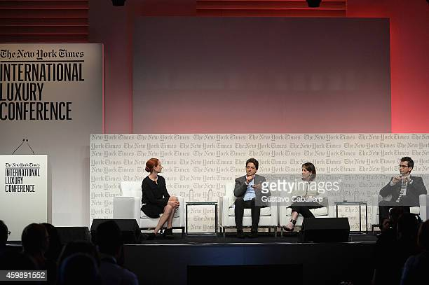 Vanessa Friedman, Fashion Director and Chief Fashion Critic, The New York Times, Carlos Jereissati Filho, CEO, Iguatemi, Karen Katz, President and...