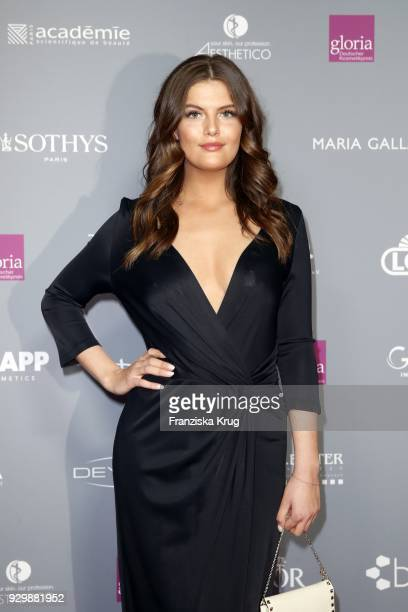 Vanessa Fuchs attends the Gloria Deutscher Kosmetikpreis at Hilton Hotel on March 9 2018 in Duesseldorf Germany