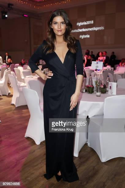Vanessa Fuchs during the Gloria Deutscher Kosmetikpreis at Hilton Hotel on March 9 2018 in Duesseldorf Germany
