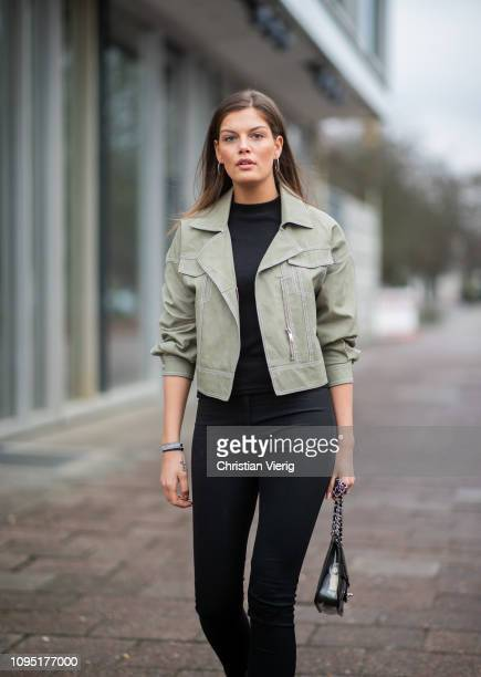 Vanessa Fuchs is seen during the Berlin Fashion Week Autumn/Winter 2019 on January 16 2019 in Berlin Germany