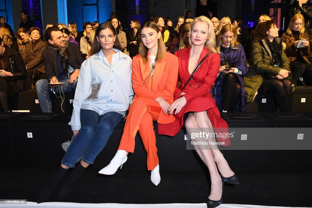 Mercedes-Benz Presents Amesh Wijesekera - Arrivals - Berlin Fashion Week Autumn/Winter 2019 : Nachrichtenfoto
