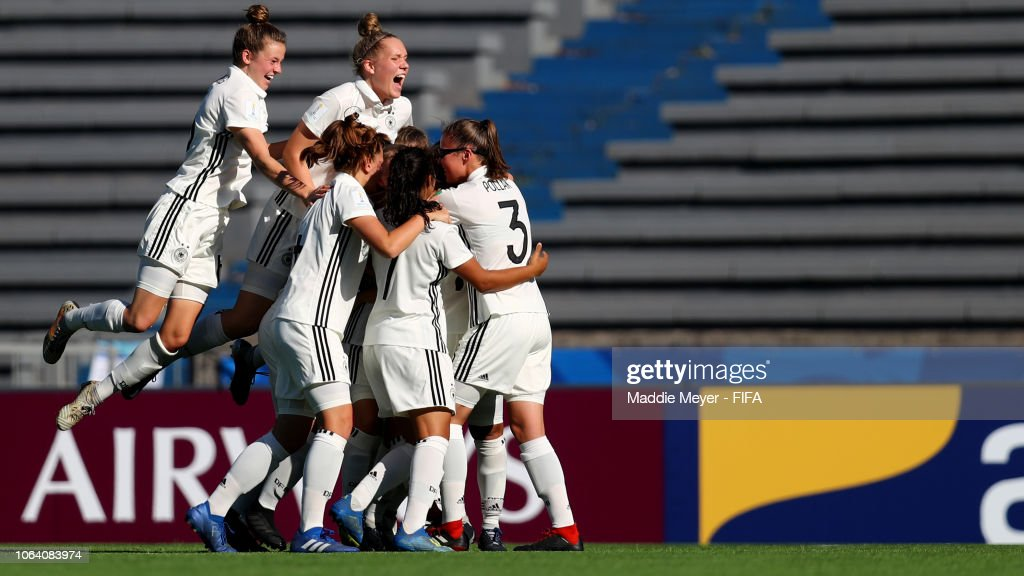 URY: Germany v USA - FIFA U-17 Women's World Cup Uruguay 2018
