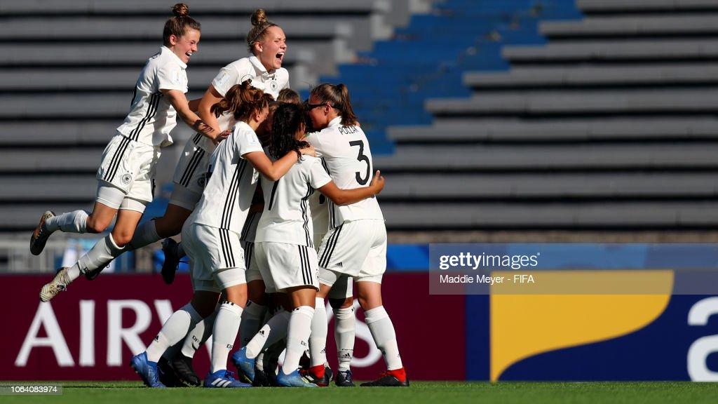 URY: Germany v USA - FIFA U-17 Women's World Cup Uruguay 2018